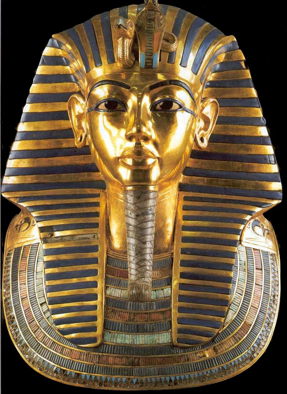 Màscara funerària d'or