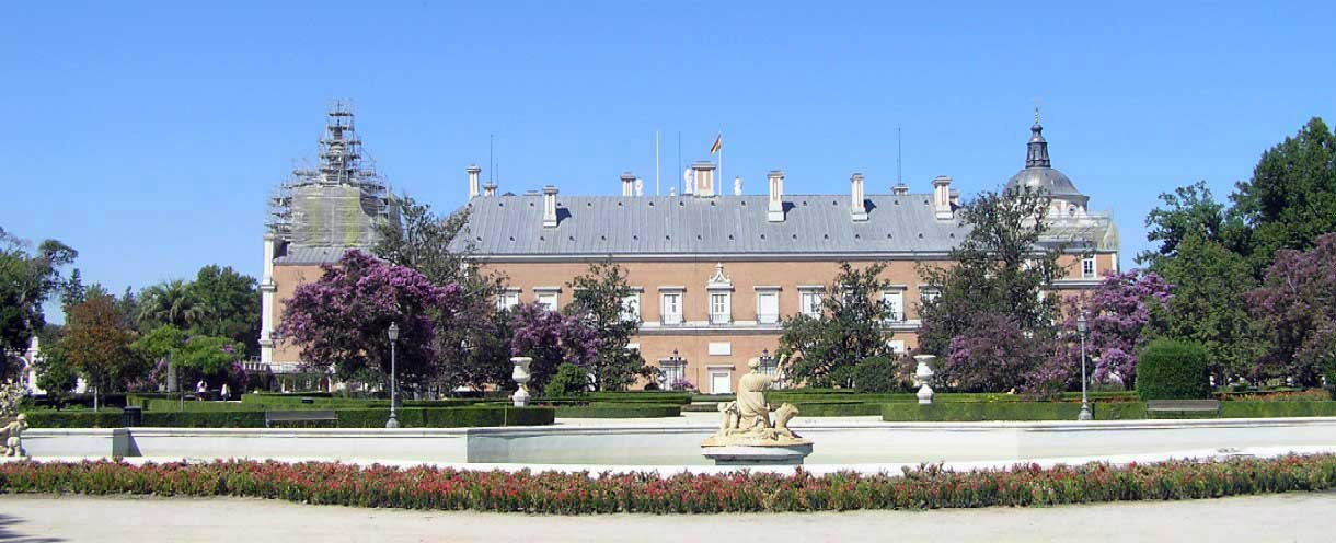 Palacio aranjuez portal fuenterrebollo for Jardines de aranjuez horario