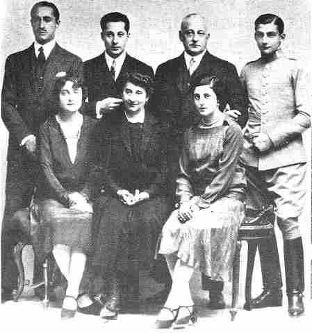 Resultado de imagen de familia primo de rivera