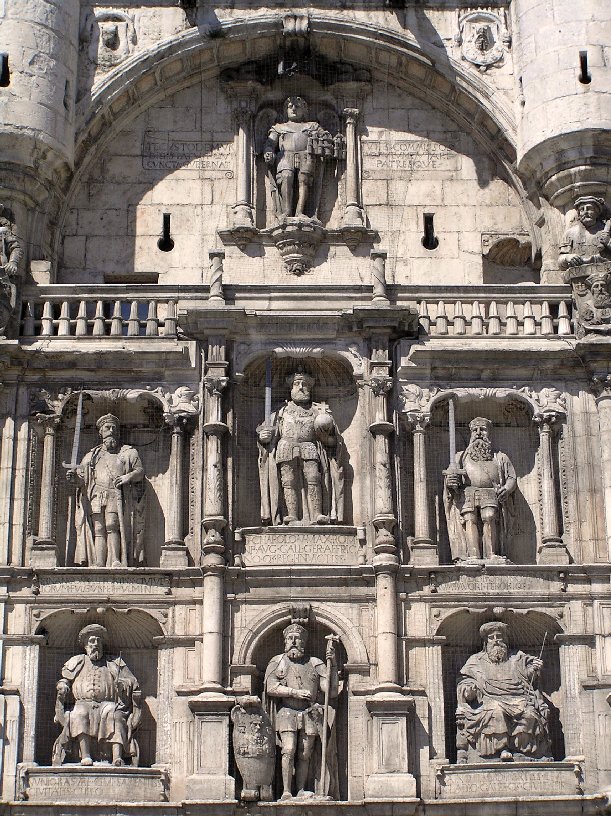 Arco Santa María (Burgos), Portal Fuenterrebollo