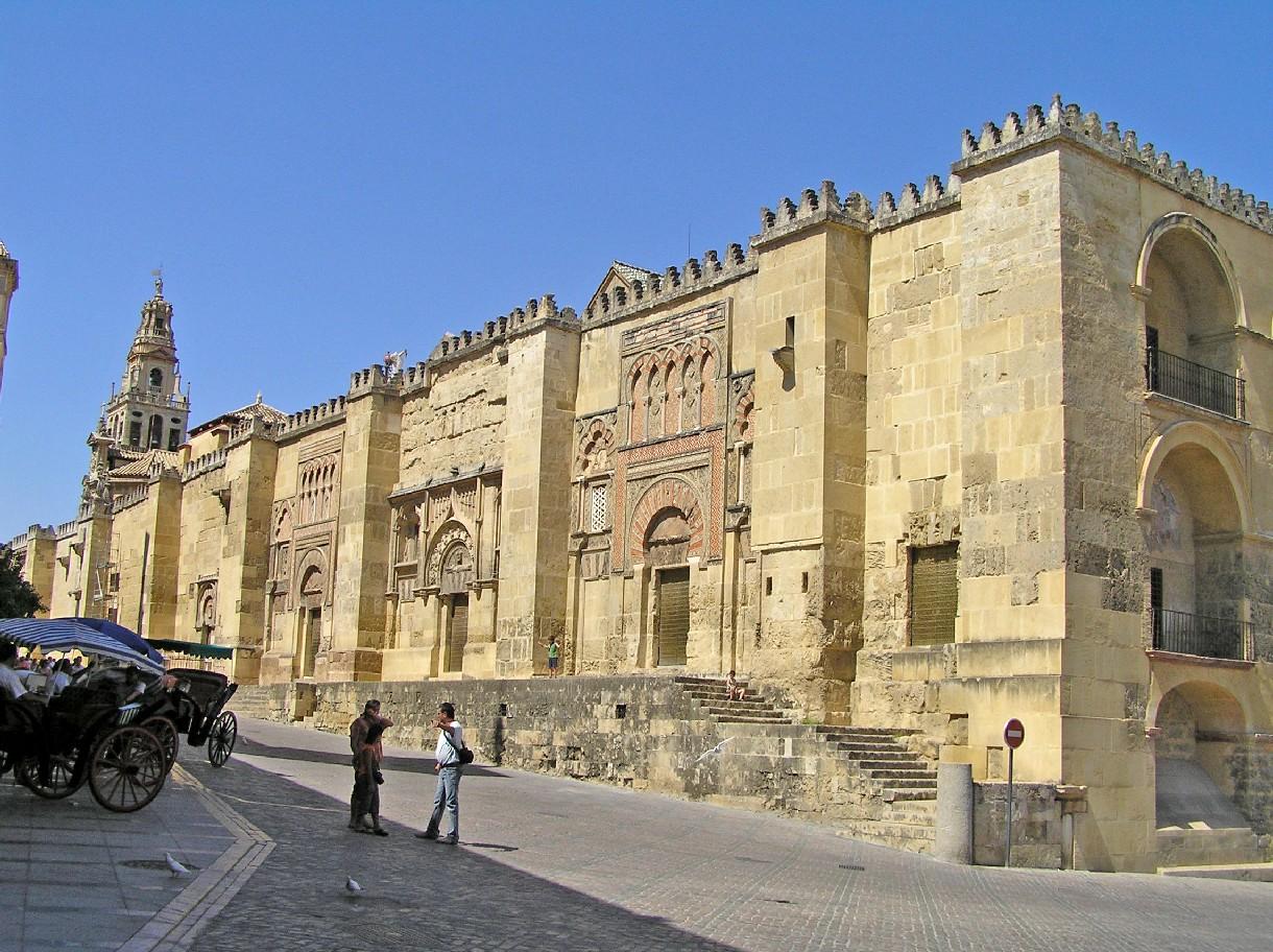 mezquita cordoba exterior images