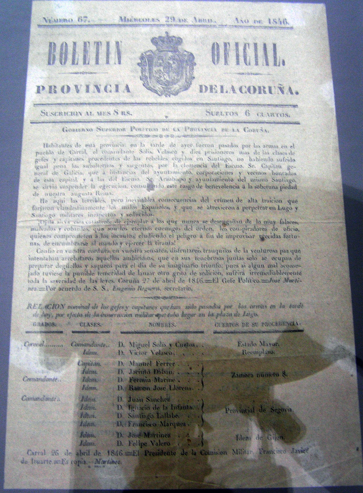 diario oficial de la provincia de a coruna: