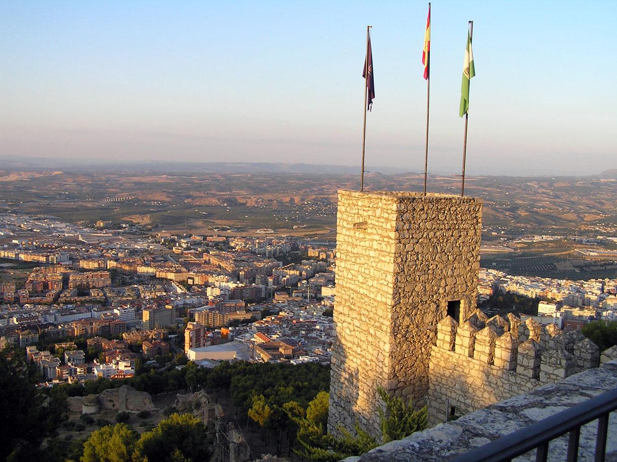 f5679058588 Panorámica de Jaén desde el Castillo de Santa Catalina - Portal  Fuenterrebollo