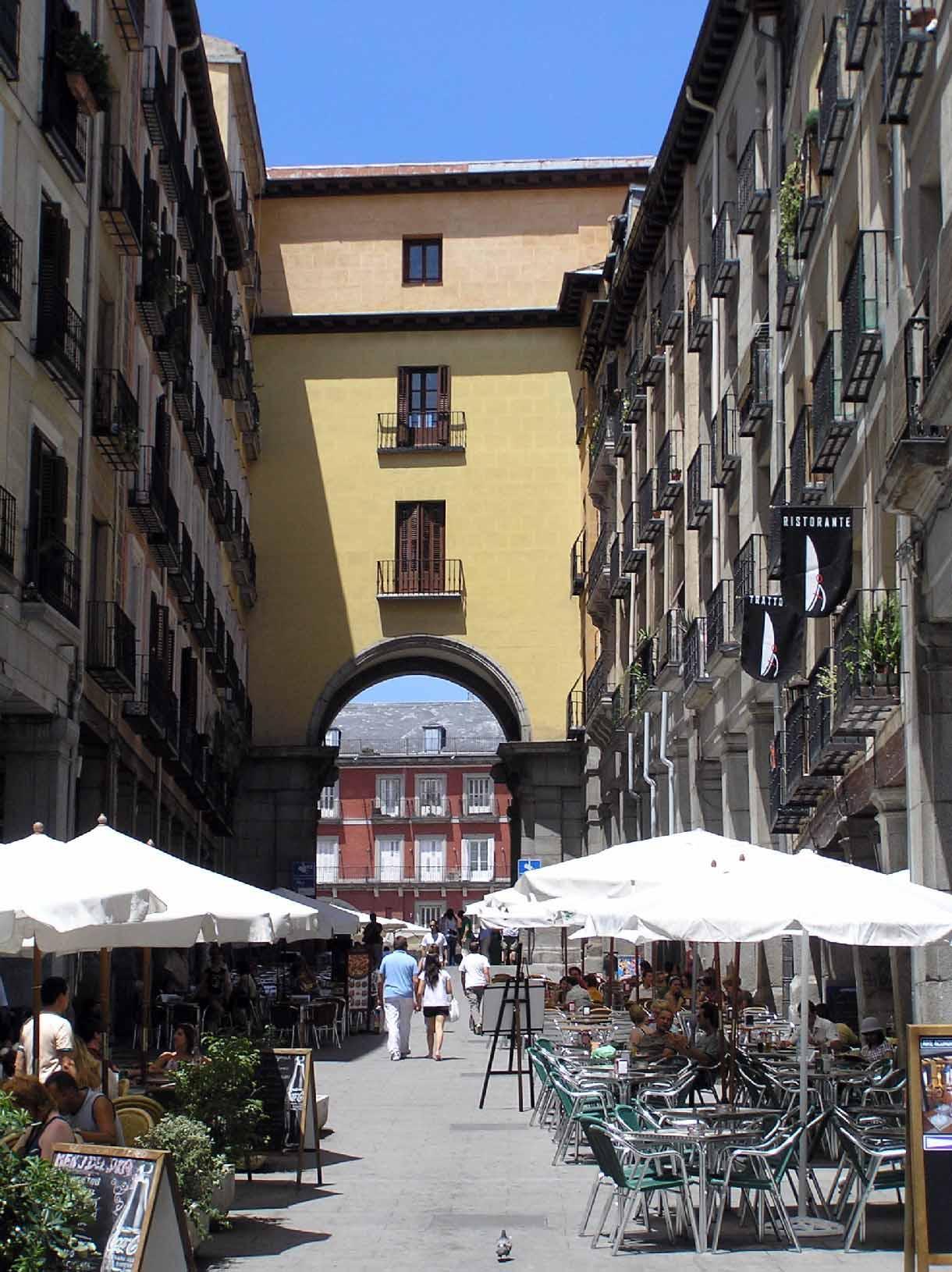 Plaza Mayor De Madrid Portal Fuenterrebollo