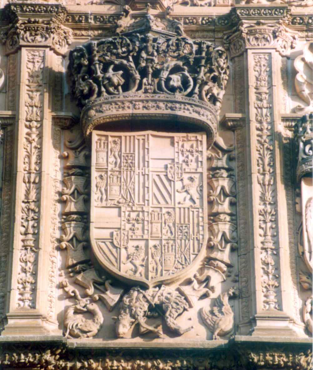 Universidad Salamanca, Portal Fuenterrebollo Felipe Ii