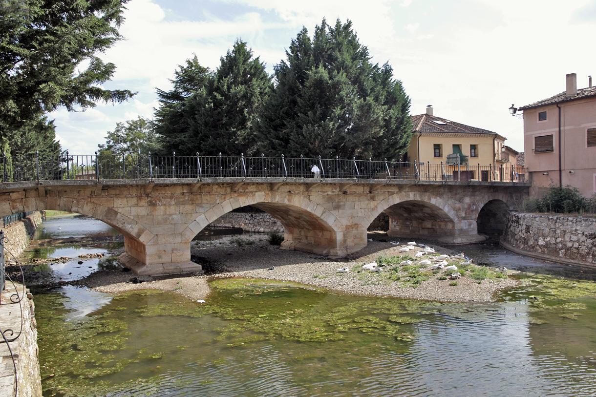 Resultado de imagen de ayllón puente romano