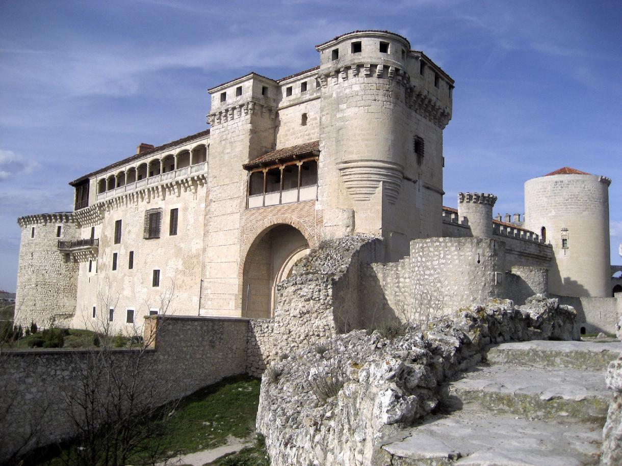 Cu llar medieval portal fuenterrebollo - Castillo de azay le rideau ...
