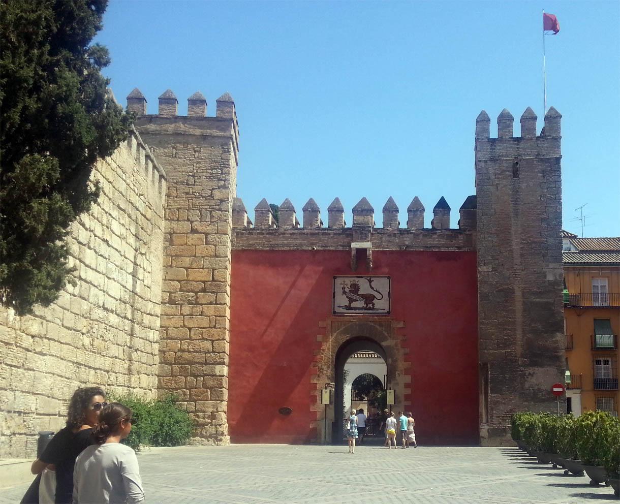 Patio del León Real Alcázar de Sevilla | Manuel Jesús Florencio