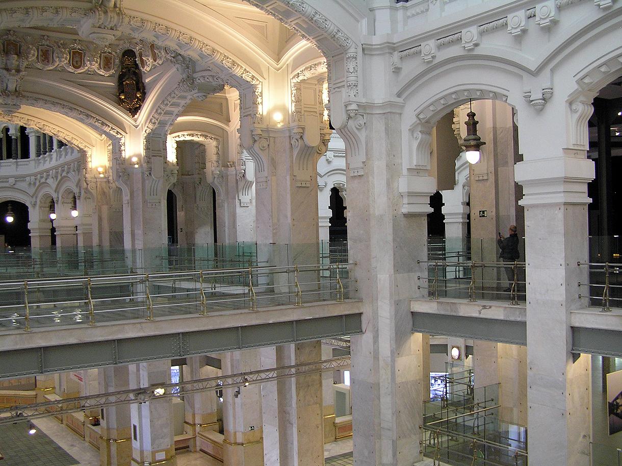 Plaza de cibeles portal fuenterrebollo for Portal del interior