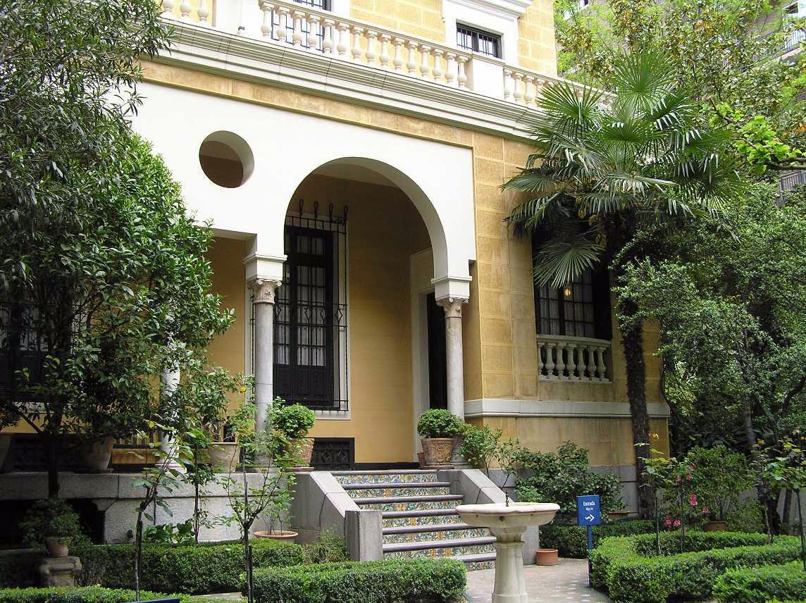 Museo sorolla madrid espa a la huida del mundanal for Casa jardin madrid