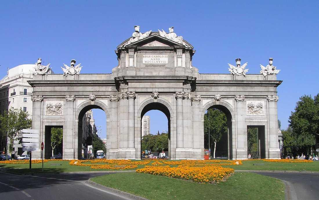 Puerta de alcal madrid portal fuenterrebollo - La puerta de alcala ...