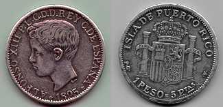 1 Peso plata, Alfonso XIII