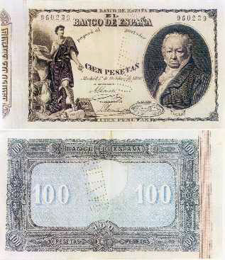 50 Dolares Estados Confederados de America, 1864 (Sello del Palmetto) 1886-billete-100ptas-peque
