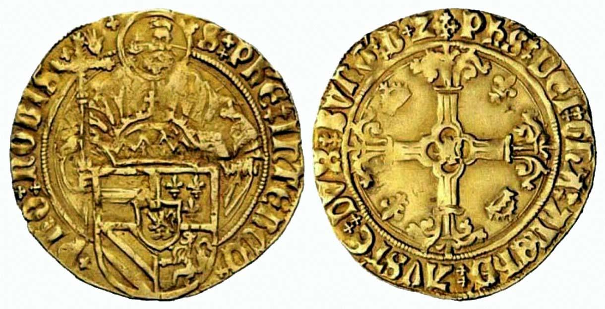 Florin (1500-1506), Portal Fuenterrebollo Felipe