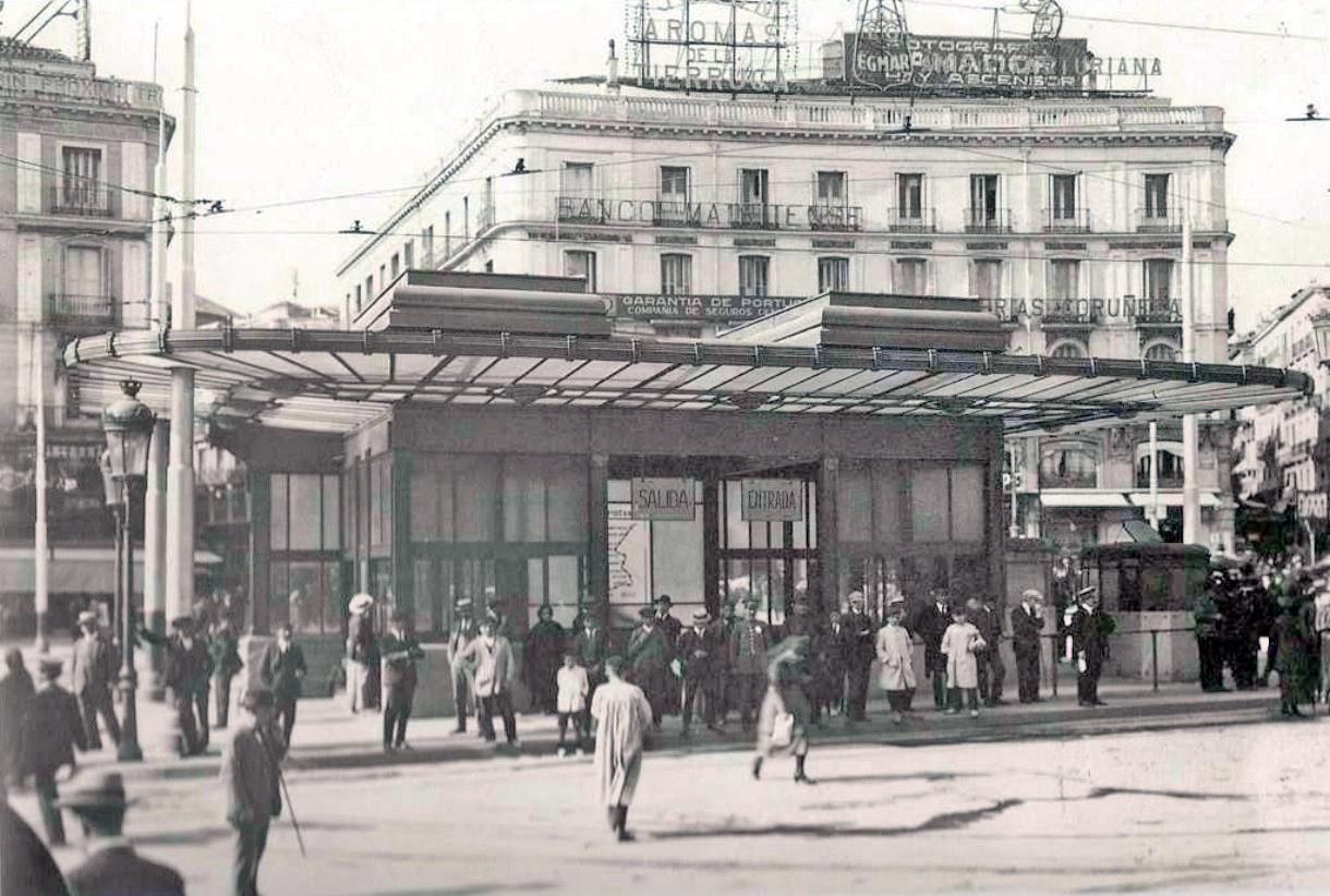 Fotos antiguas madrid portal fuenterrebollo for Centro comercial la puerta del sol