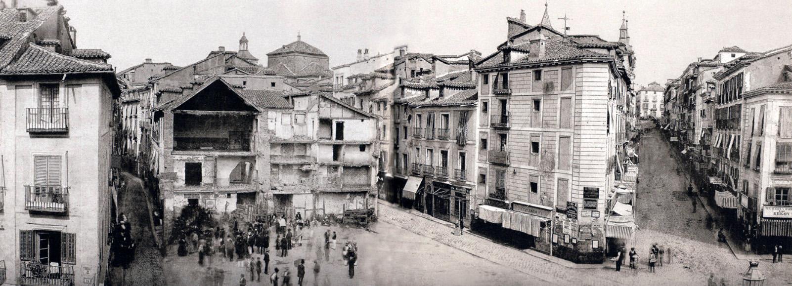 Fotos antiguas madrid portal fuenterrebollo Puerta del sol madrid fotos