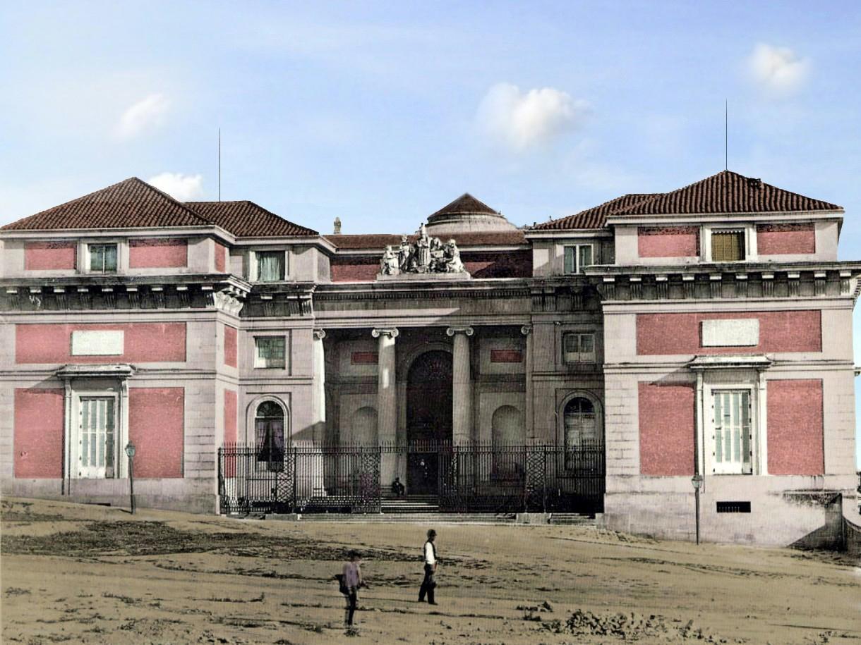 Madrid antiguo color portal fuenterrebollo for Hoteles en la calle prado de madrid