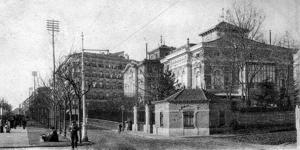 Fotos antiguas madrid portal fuenterrebollo - Calle santiago madrid ...